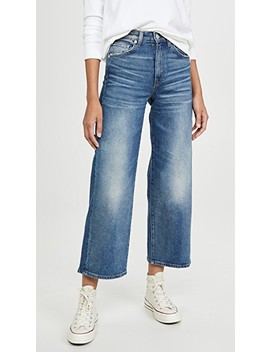 Sunday Wide Leg Crop Jeans by Cqy