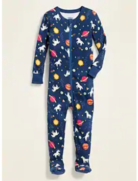 Unicorn Print Footed Sleeper For Toddler & Baby by Old Navy
