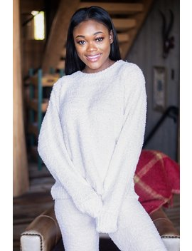 Too Cozy To Care Powder Pink Pullover by The Mint Julep Boutique