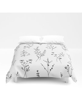 New Wildflowers Duvet Cover by Society6