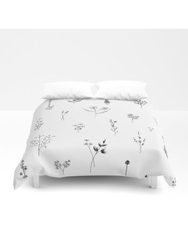 Wildflowers Big Duvet Cover by Society6