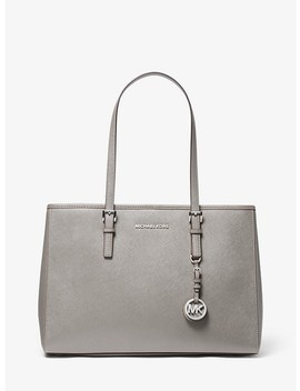 Jet Set Travel Large Saffiano Leather Tote by Michael Michael Kors