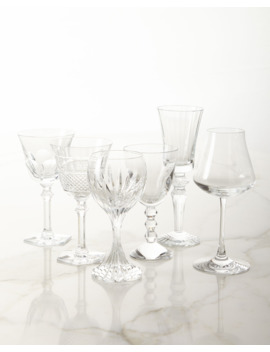 Box Of Assorted Wine Glasses, Set Of 6 by Baccarat