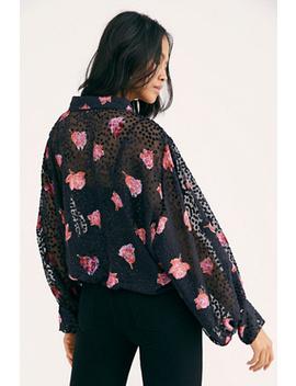Allure Velvet Tie Front Kimono by Free People
