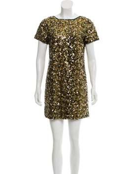 Silk Embellished Dress by Tibi