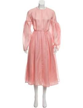 2017 Flora Silk Dress W/ Tags by Emilia Wickstead