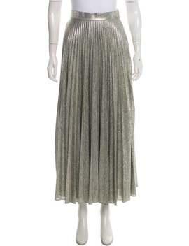Pleated Midi Skirt by Emilia Wickstead