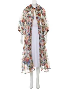 Silk Floral Duster by Emilia Wickstead