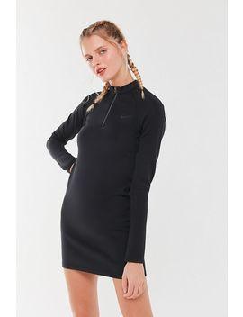 Nike Sportswear Mock Neck Mini Dress by Nike