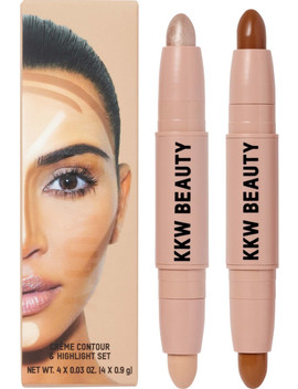 Crème Contour & Highlight Set by Kkw Beauty