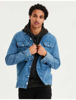 ae-denim-workshirt by american-eagle-outfitters