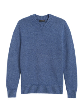 High Crew Neck Sweater by Banana Repbulic