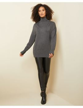 C&G Funnel Neck Tunic Sweater by Rw & Co
