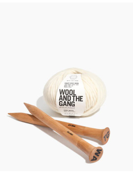 Wool & The Gang™ Triple Threat Scarf Kit by Madewell