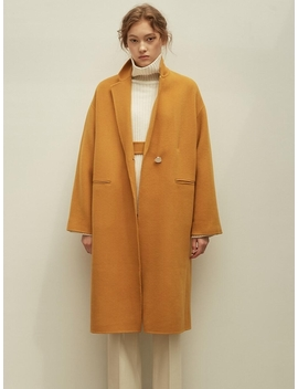 Esther Handmade Coat Yellow by Unkiind