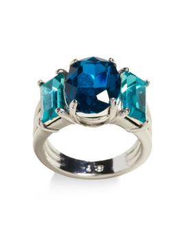 Triple Stone Cocktail Ring by Banana Repbulic