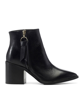 Leather Band Chelsea Boots by Simons