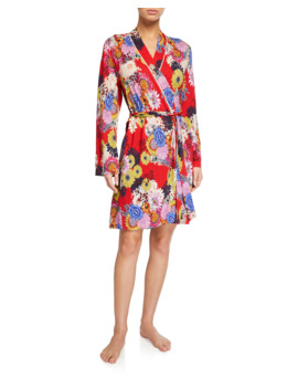 Mishka Floral Print Robe by Johnny Was