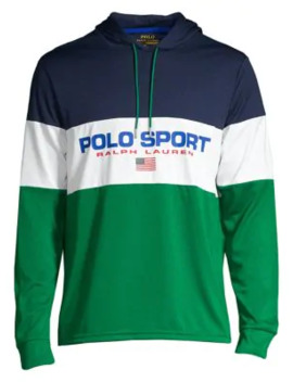 Colorblock Jersey Hoodie by Polo Ralph Lauren