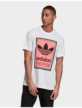 Adidas Originals Filled Label T Shirt by Adidas Originals