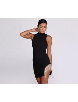 Get It Together Mockneck Mini Dress by Windsor