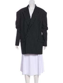 Structured Long Sleeve Blazer by Vetements