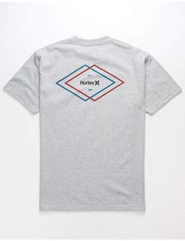 Hurley Double Diamond Mens T Shirt by Hurley