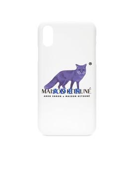 Maison Kitsune X Ader Error I Phone X Pixel Fox Case by Maison Kitsuné