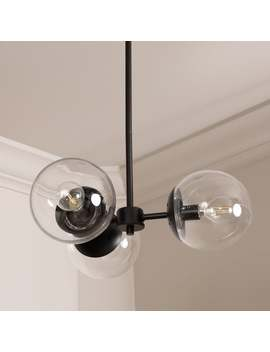 Gabriel Globe 3 Light Chandelier by Generic