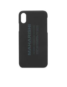 Maharishi Miltype I Phone X Case by Maharishi