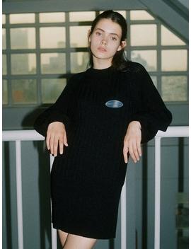 Bell Knit Dress by Noir