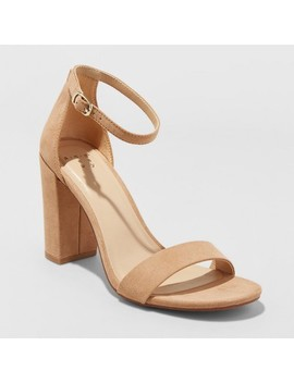 Women's Ema High Block Heel Pumps   A New Day™ by A New Day