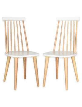 Safavieh Burris Side Chairs In Natural (Set Of 2) by Bed Bath And Beyond