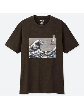 Men Edo Ukiyo E Ut (Short Sleeve Graphic T Shirt) by Uniqlo