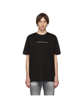 Black T Just Copy T Shirt by Diesel