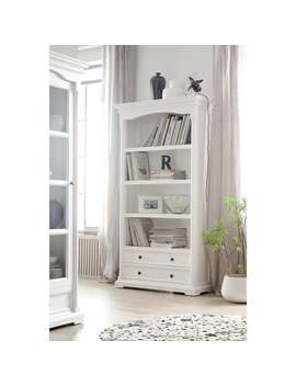 The Gray Barn Ora White Mahogany Bookcase by The Gray Barn