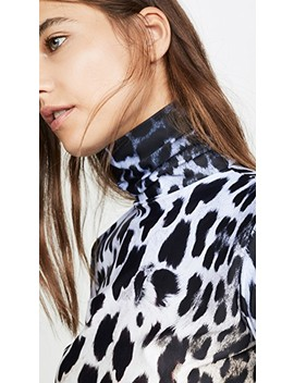 Faded Leopard Turtleneck by R13