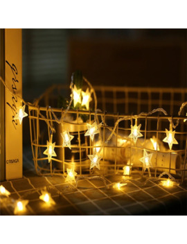 1 M/3 M/6 M/10 M Led Star Fairy Garland String Lights Novelty For New Year Christmas Wedding Home Indoor Decoration Battery Powered by Ali Express.Com