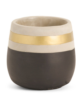 Two Tone Planter by Tj Maxx