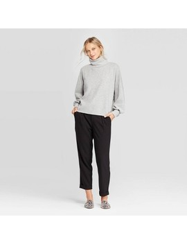 Women's Long Sleeve Turtleneck Oversized Sweatshirt   Who What Wear™ by Who What Wear
