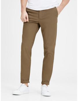 Tan Marco Fit Chino Pants by Jack & Jones