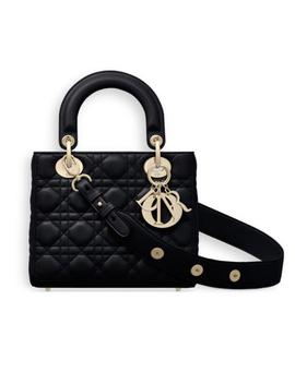 Lady Small Black Satchel by Dior
