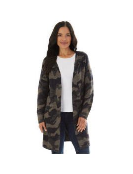 Women's Apt. 9® Printed Long Cardigan by Apt. 9