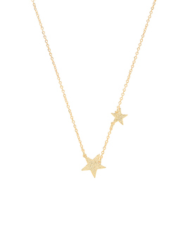 Super Star Necklace In Gold by Gorjana