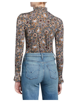 Manila Printed Long Sleeve Top by Stine Goya