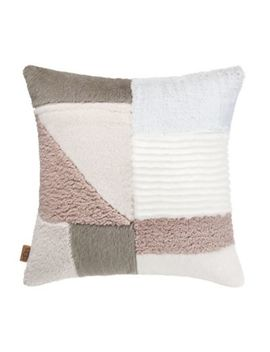 Ugg® Carmel Square Throw Pillow In Natural by Bed Bath And Beyond