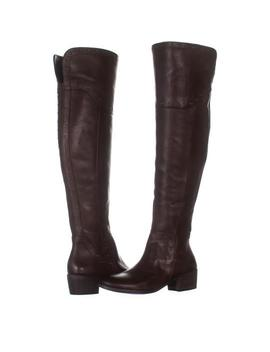 Brown Bestan Studded Over The Knee 027 Carob / 3 Boots/Booties by Vince Camuto