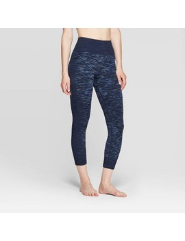 Women's High Waisted 3/4 Seamless Leggings   Joy Lab™ by Joy Lab