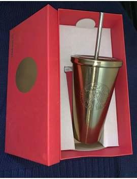 Starbucks Stainless Steel Gold Tumbler by Starbucks