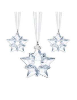 Swarovski® 3 Piece Christmas Ornament Set 2019 Edition by Bed Bath And Beyond